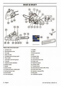 Husqvarna 445 445e 450e Chainsaw Owners Manual  2005 2006