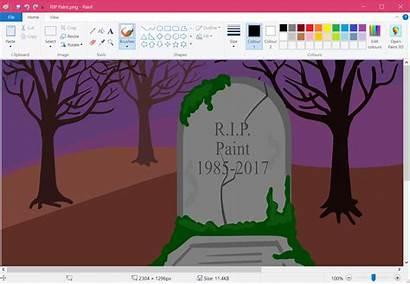 Paint Microsoft Ms Windows Rip 1985 End