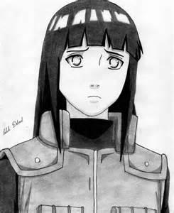 Naruto Shippuden Drawing Hinata