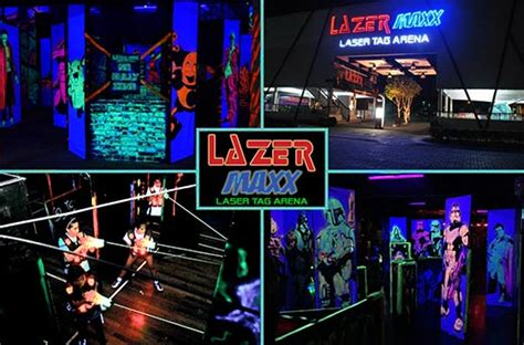 Off Lazer Maxxs Laser Tag Shooting Promo