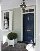Navy Blue Front Door Paint by This Color Lacquered Life Church Street Front Door Benjamin Moore Gentlema