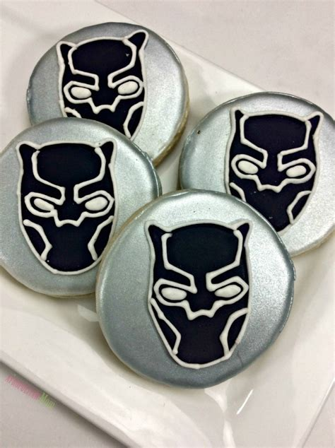 recipe marvels black panther cookies afropolitan mom