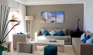 salon moderne oriental d39inspiration marocaine With decoration interieur salon moderne