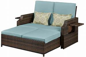 Outdoor futon loveseat sofa bed bermuda the futon shop for Outdoor futon sofa bed