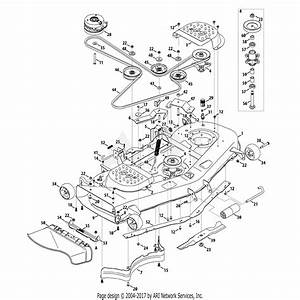 Troy Bilt 17adcack066 Mustang 54 Xp  2013  Parts Diagram