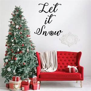 Farmhouse, Christmas, Decor, Let, Vinyl, Decor, Wall, Decal