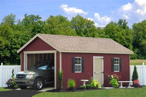 one car garage portable garages portable car garages by sheds unlimited