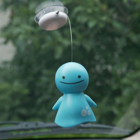 Eyeglass Holder Stand by Solar Powered Bobblehead Nohohon Doll Feelgift