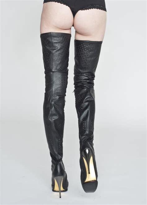 AROLLO Stiletto Overknee Stiefel und sexy lange High Heel