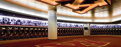 modern team locker room athletic business