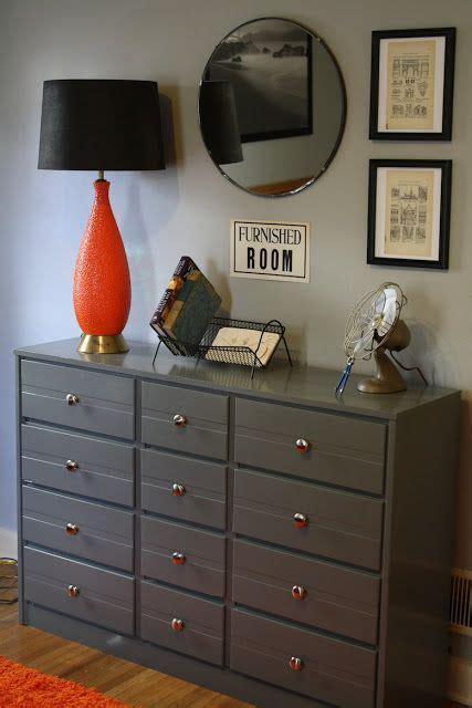 painted gray dresser perfect   teenage boys bedroom