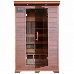 2 Mann Sauna : radiant sauna 2 person cedar infrared sauna with 6 carbon ~ Lizthompson.info Haus und Dekorationen