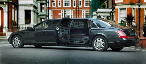Extended Maybach 62 Becomes Six-seat Maybach 72