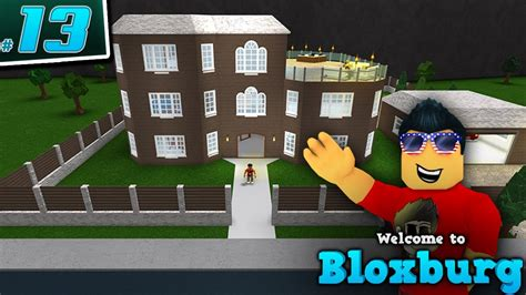 Seniac's House In Welcome To Bloxburg!  Ep 13 Roblox