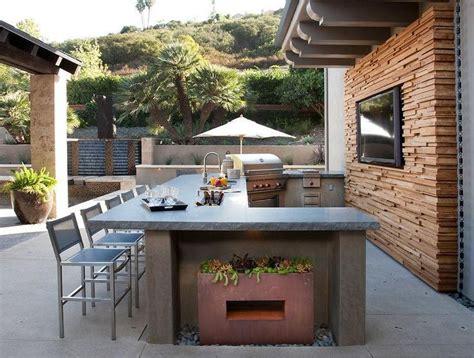 u shaped outdoor kitchen designs best 25 outdoor kitchen countertops ideas on 8652