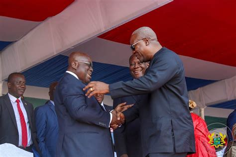 Nana Addo at Barrow's inauguration, visits Ghanaians in