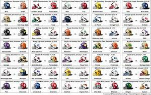 SimonOnSports: 10-11 NCAA Bowl Game Helmet Schedule