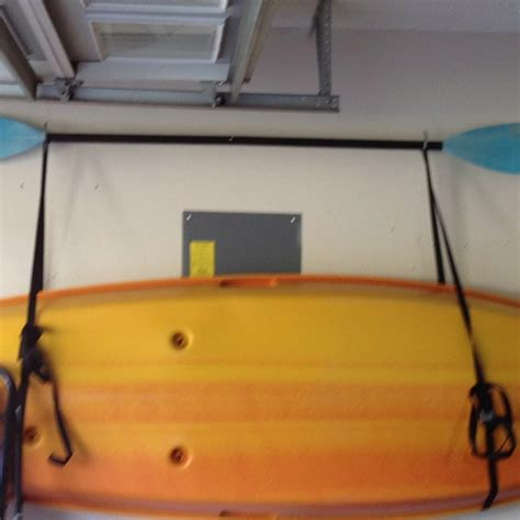 hang kayak in garage 18 best images about garage on wall mount