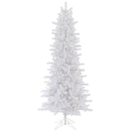 10 foot alim white christmaa tree vickerman 10 ft white pine slim tree walmart