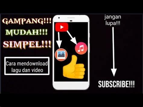 Adapun cara membuatnya cukup mudah dan tidak butuh. TUTORIAL Cara menyimpan lagu di YouTube ke musik dan ke ...