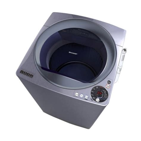 sharp washing machine top loading 10 kg courts indonesia