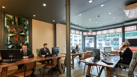 contemporary office decor peppermill interiors