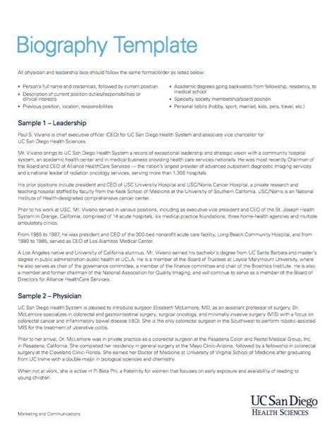 45 Biography Templates & Examples (personal, Professional. Dissertation Proposal Example. Daily Expense Tracker Spreadsheet. Whats Is A Cover Letter Template. Silence Your Cell Phones Template. Orthodontic Assistant Resume Sample Template. Resume For Mechanical Technician Template. Sample Cover Letter Business Template. Reference Samples For Resume Template