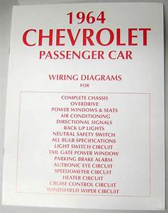 64 1964 Chevy Impala Electrical Wiring Diagram Manual