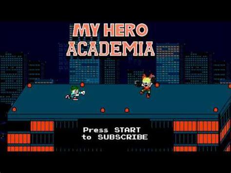 Boku No Hero Academia Opening  The Day 8bit Nes Remix