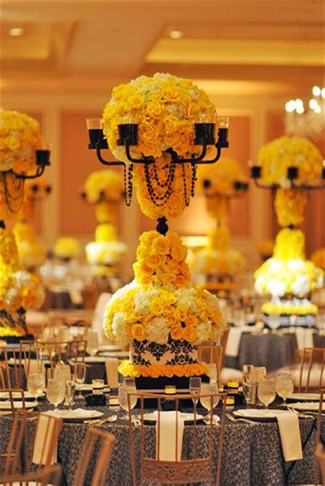 16 best images about yellow event decor on yellow weddings seaside and floating candles