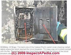 Panel Fire And Failure Photos Involving Fpe Stab