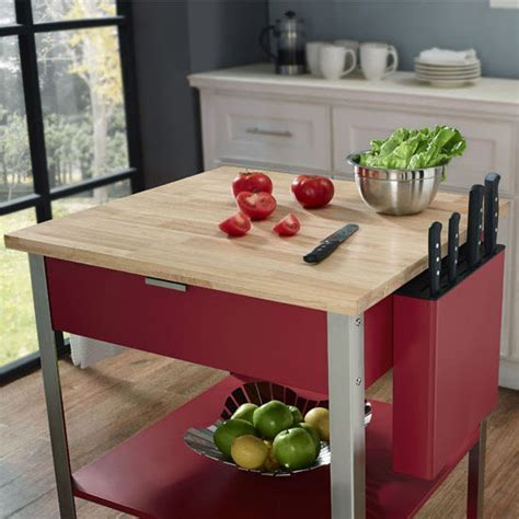 Crosley Furniture, Culinary Prep Kitchen Cart Available in