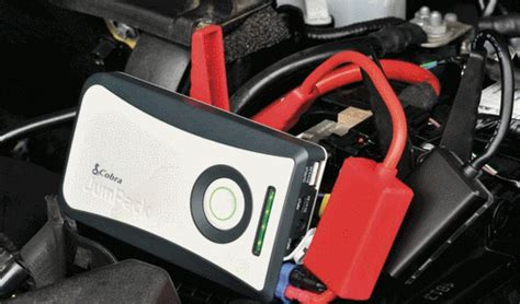 Car Jump Starter + Smartphone Charger