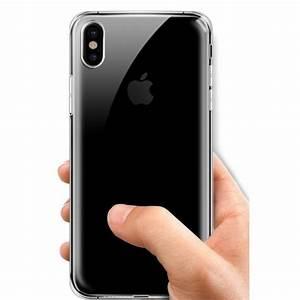 Coque Iphone Transparente : coque silicone transparente iphone x pas cher tout pour phone ~ Teatrodelosmanantiales.com Idées de Décoration