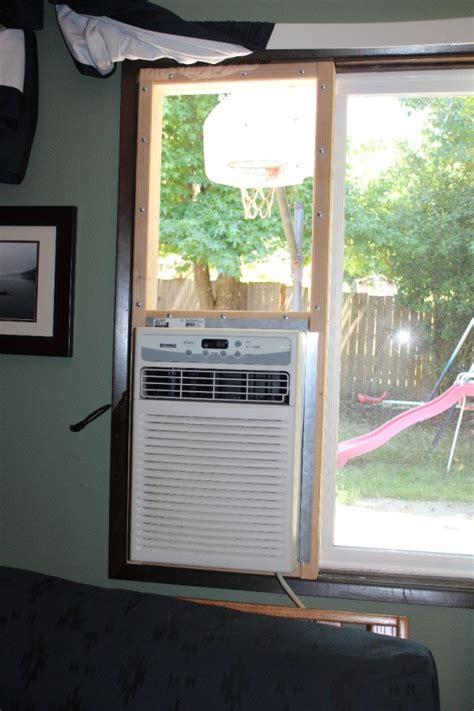 installing  window air conditioner thriftyfun