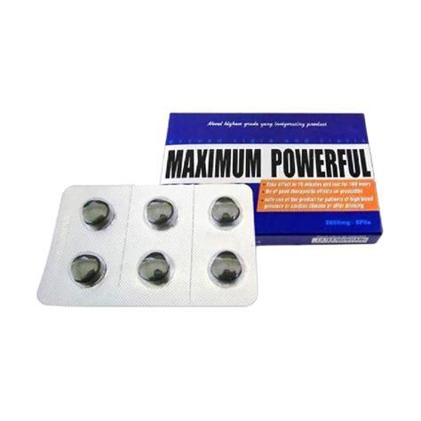jual maximum powerfull suplemen pria perkasa obat kuat