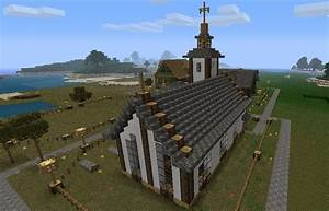 Small Town Church! Minecraft Project