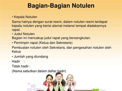 Bentuk Notula Rapat by Notulen Rapat