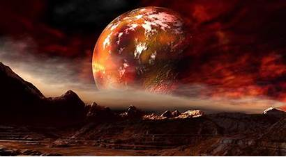 Mars Planet Background Space Moon Wallpapers Backgrounds