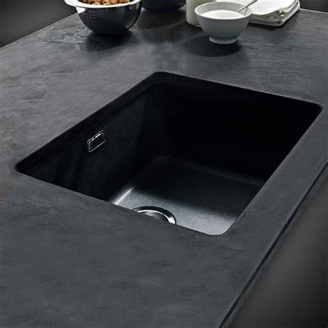 franke kubus kbg  fragranite undermount sink onyx livecopper