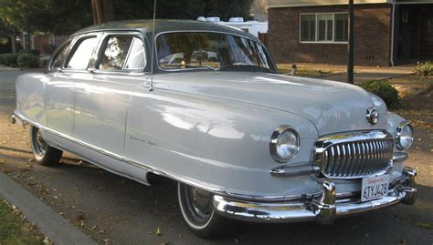 1951 NASH STATESMAN 4 DOOR SEDAN - 137795