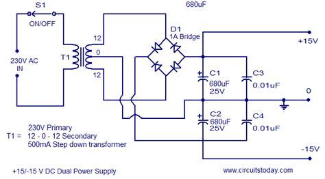 Stereo Amplifier Balance Control Circuit Diagram