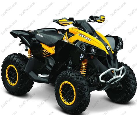 can am renegade 800 additional led headlights for atv can am renegade 800 g2