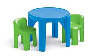 little tikes bold n bright table and chairs set table