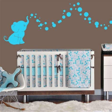 chambre bebe elephant idée déco chambre bébé sympa et originale à motif d 39 éléphant