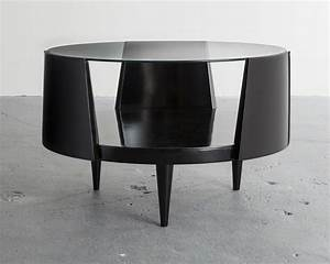 martin eisler round coffee table 1950s available for With artsy coffee table