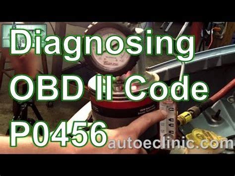 diagnose check engine light code p small evap