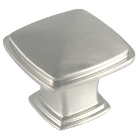 square kitchen cabinet handles cabinet knobs and handles satin nickel cabinet knob 5669