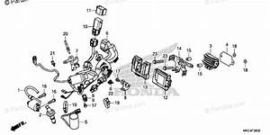 Honda Motorcycle 2018 Oem Parts Diagram For Wire Harness