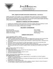 Entry Level Health Information Management Resume by Resume Highlights 2017 2018 Cars Reviews